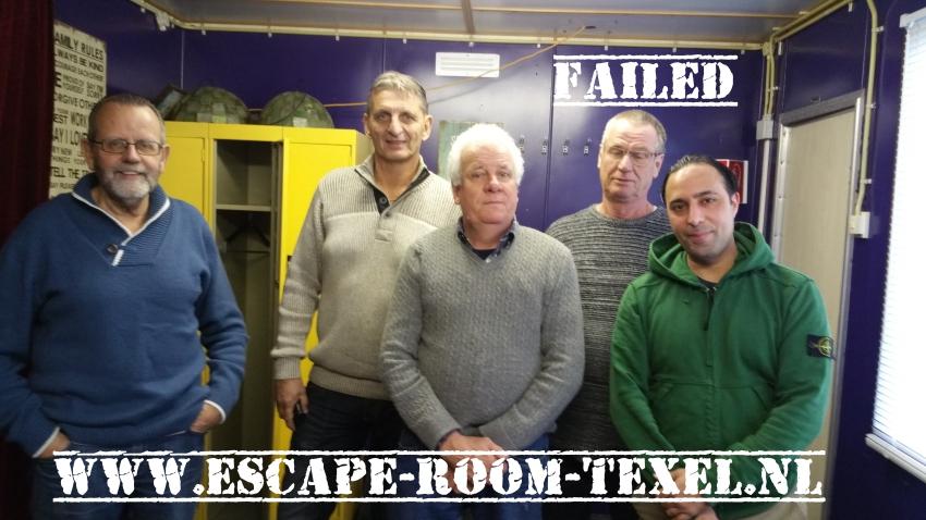 Team Jumbo Escape Room Texel